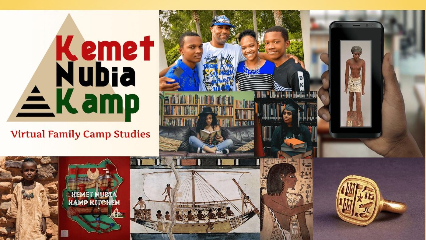 Kemet Nubia Kamp Summer 2021 Banner Image